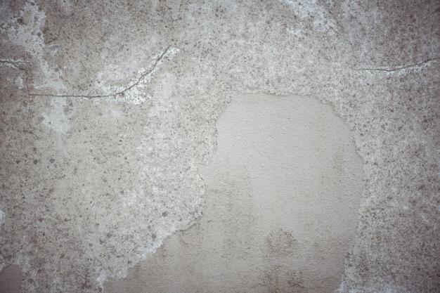 剥離石膏背景に古い壁