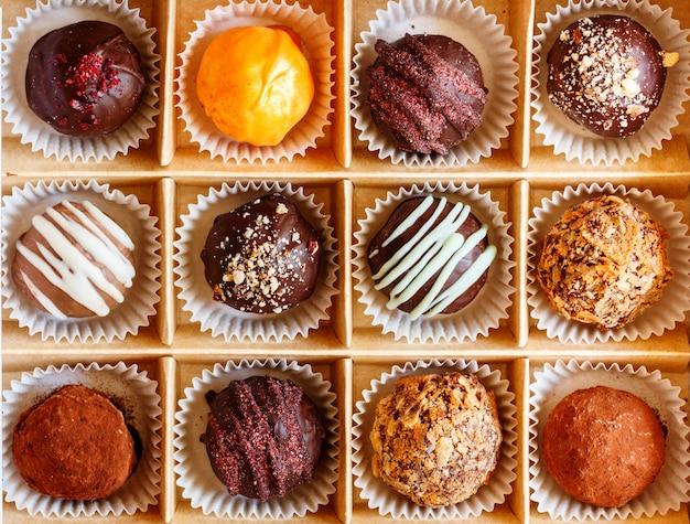 チョコレートトリュフボックス