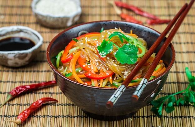 野菜のでんぷん(米、ジャガイモ)麺