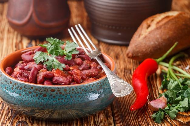 トマトと小豆