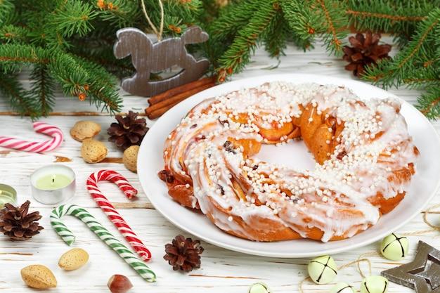 Рождественский (новогодний) пирог