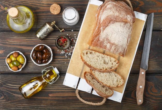 食材を使ったパン