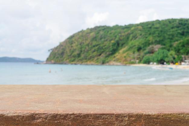 Каменная поверхность с пейзажного фона