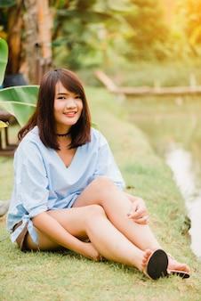 Чистой моды тайский будущее положительное