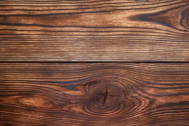 木製の板茶色の美しいパターンと背景のテクスチャ