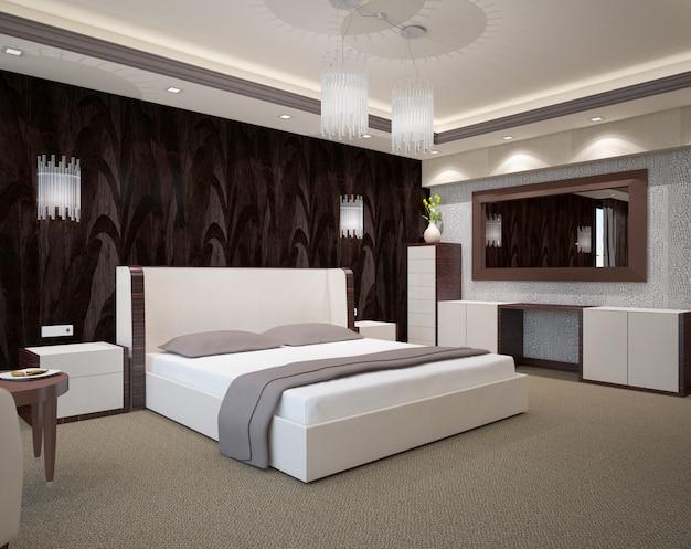 ベッドルームのインテリア