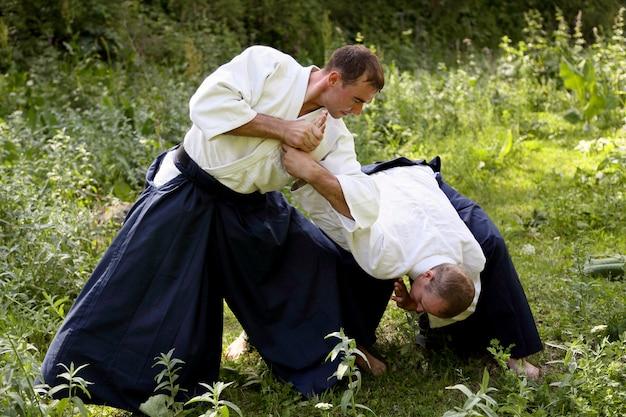 武道合気道のトレーニング
