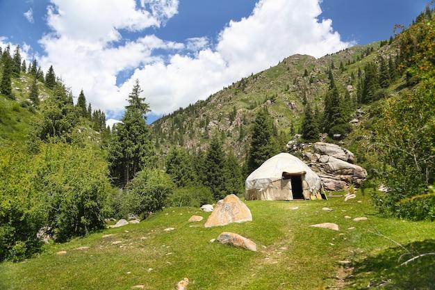キルギスタンの山。