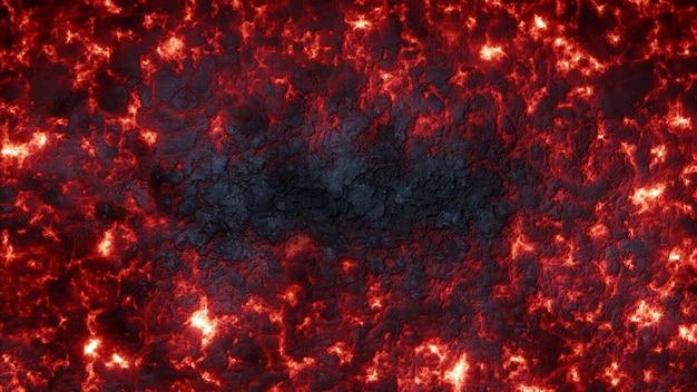 溶岩の背景