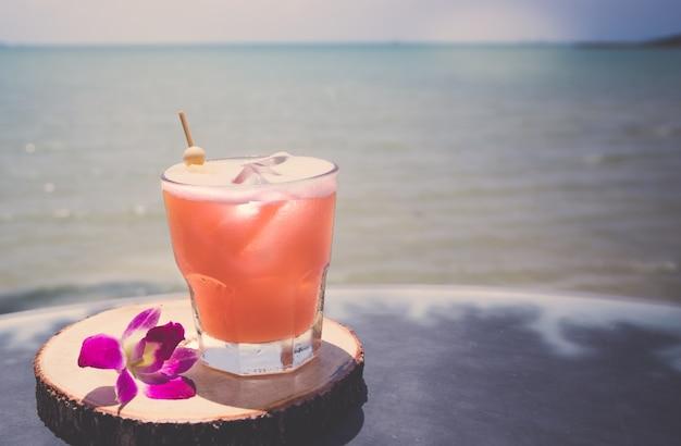 アルコール飲料のクローズアップ