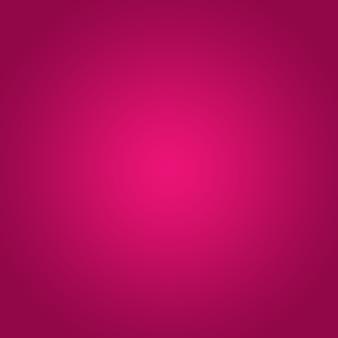 ピンクのグラデーションスポットライトとぼやけた光と紫色の背景