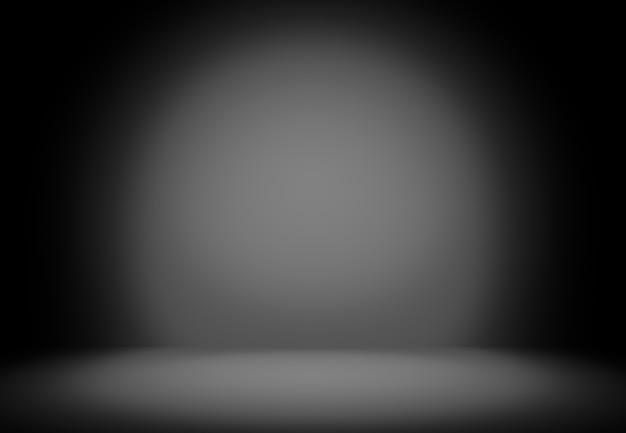 抽象的な黒の豪華な背景スタジオの背景 - よく背景として使用します。