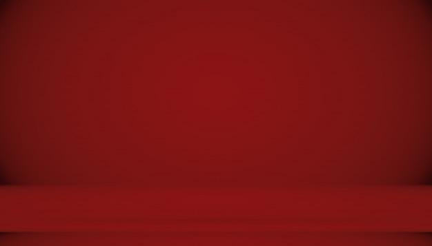 抽象的な背景が赤のクリスマスバレンタインのレイアウトデザイン