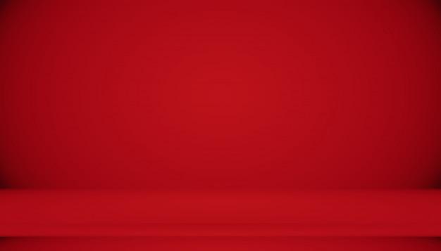 Абстрактный красный фон рождество валентина дизайн макета, студия, комната