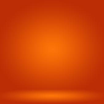 抽象的な滑らかなオレンジ色の背景レイアウトデザイン