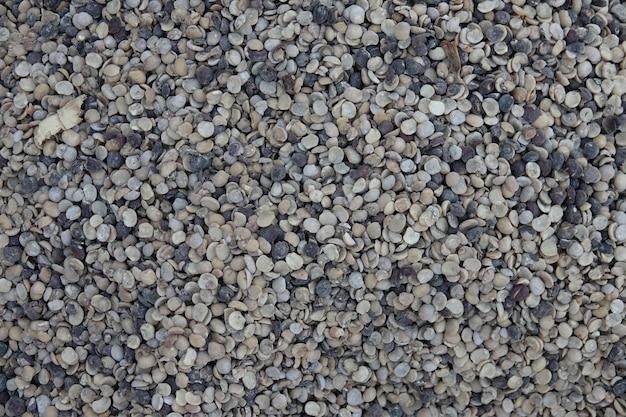 小さな石の床