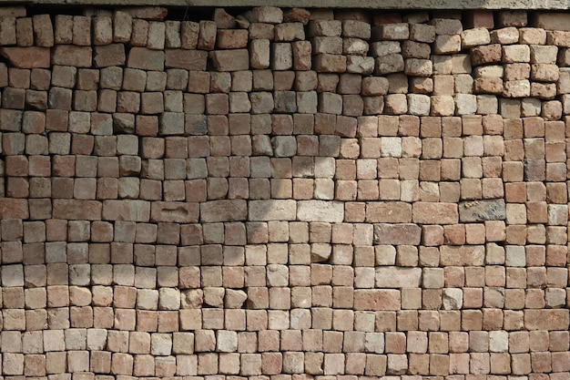 Текстура уложенных бревен квадратных