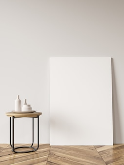 白いリビングルーム