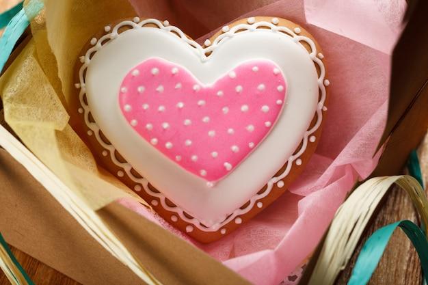 聖バレンタインのケーキ