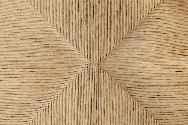 設計された椅子から籐パームテクスチャ