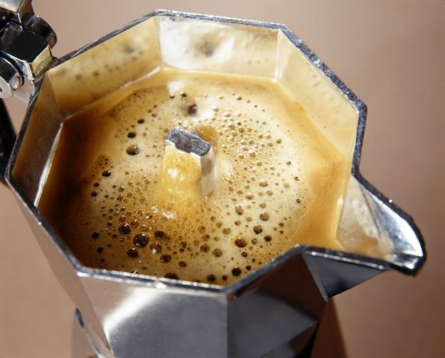 Свежеприготовленный кофе