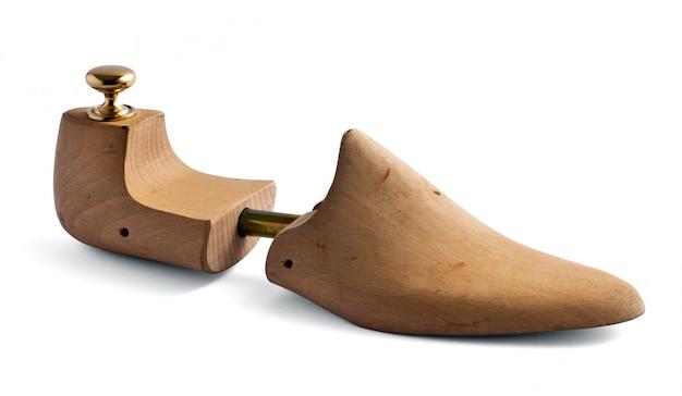 木製の靴の木