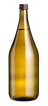 白ワインの大きなラベルのないマグナム