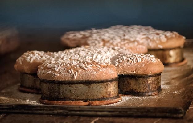 Пасхальные торты коломба готовить в духовке