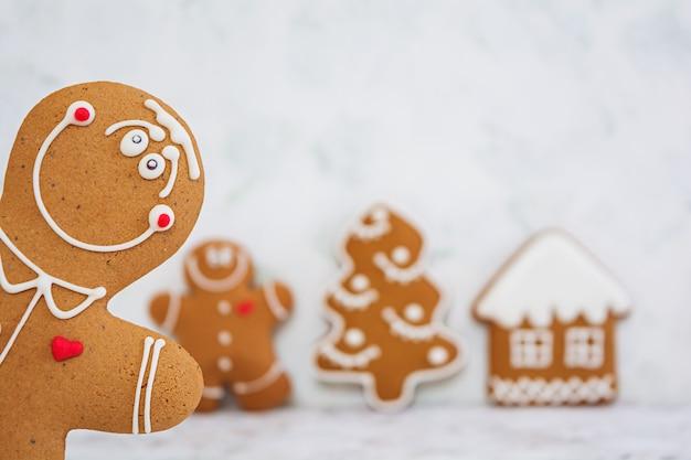 クリスマスのジンジャーブレッドクッキー