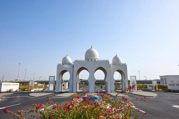 アブダビのシェイクザイードグランドモスク