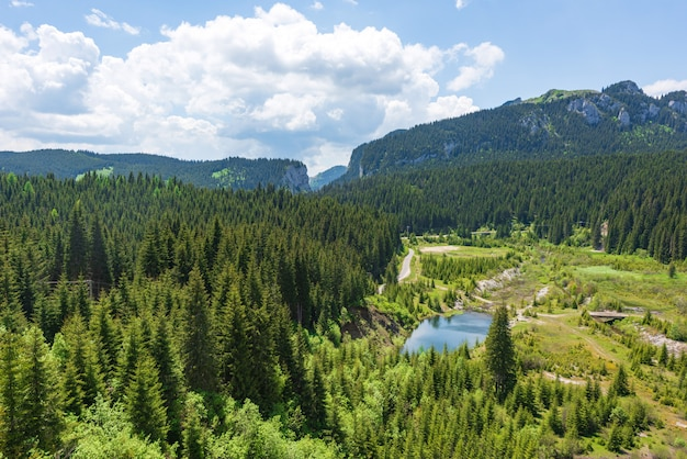 ルーマニアのカルパティア山脈