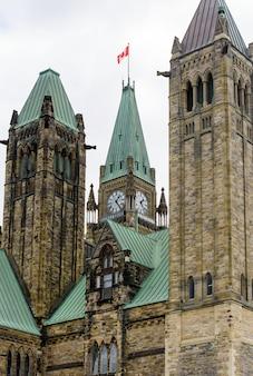 カナダ国会議事堂の塔