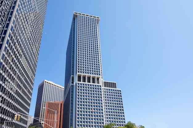 ニューヨークの近代的な建物