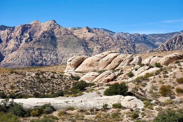 レッドロックキャニオン、ネバダ州、アメリカ合衆国の風景