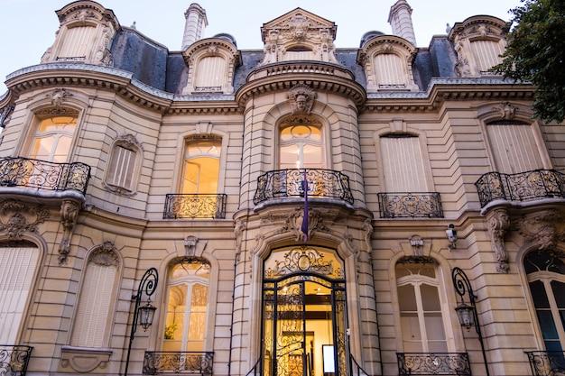 フランススタイルで建てられた素敵な建物
