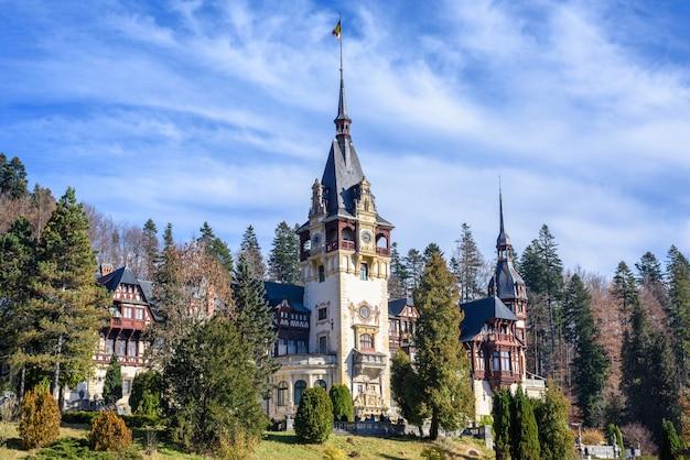 ルーマニアのペレス城