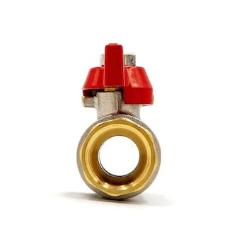 水栓とアダプター。