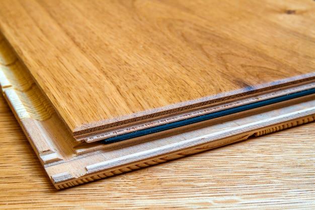 木製フローリング板