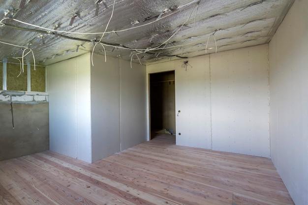 建設中の部屋