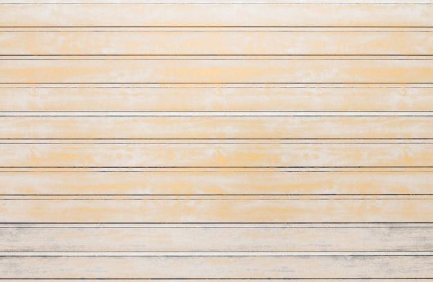 白い木の板テクスチャ背景。ヴィンテージ効果