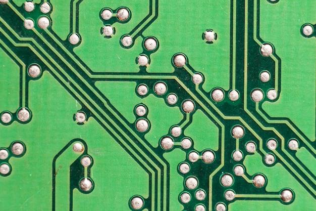 マザーボードのデジタルチップ。