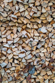 木製テクスチャ背景ブラウン薪