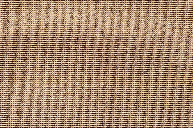 抽象的な茶色のテクスチャ背景。荒布布キャンバスの表面