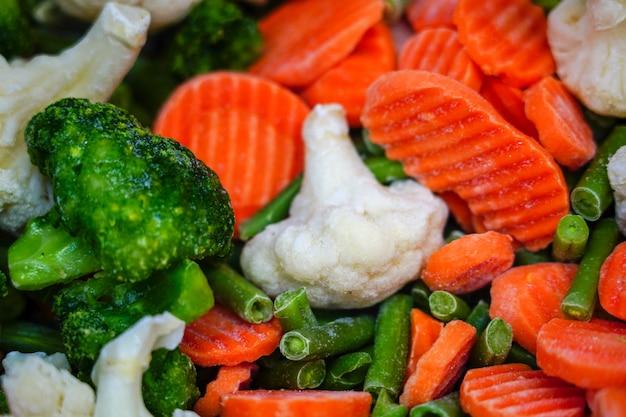 冷凍野菜、冬の食べ物を買いだめ。