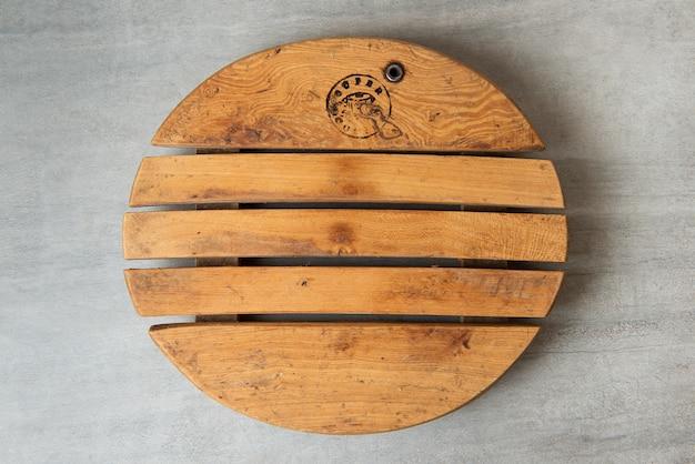 Деревянные текстуры стола.