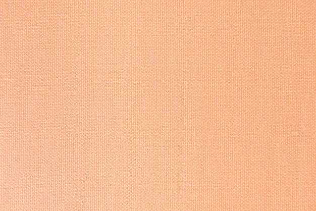 オレンジ色の織物のテクスチャ