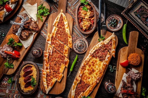 Традиционная турецкая кухня.