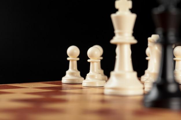 ボード上のチェス