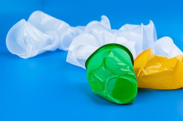 プラスチックカップゴミ