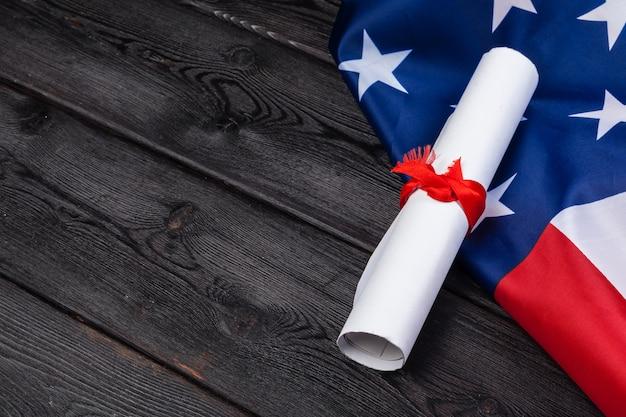 アメリカ合衆国の独立宣言と国旗
